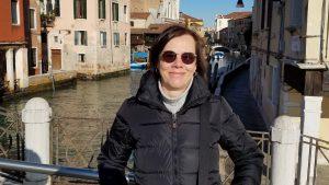 Jutta Schmuttermaier in Venedig