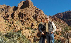 Jutta Schmuttermaier und Ehemann Alexander Duda im Urlaub in Marokko